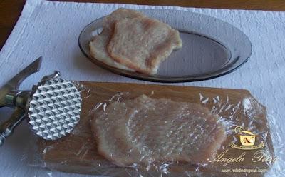 Preparare snitele de porc - etapa 3