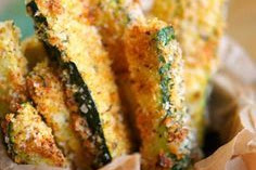 Recipe - Baked Parmesan Zucchini Fries