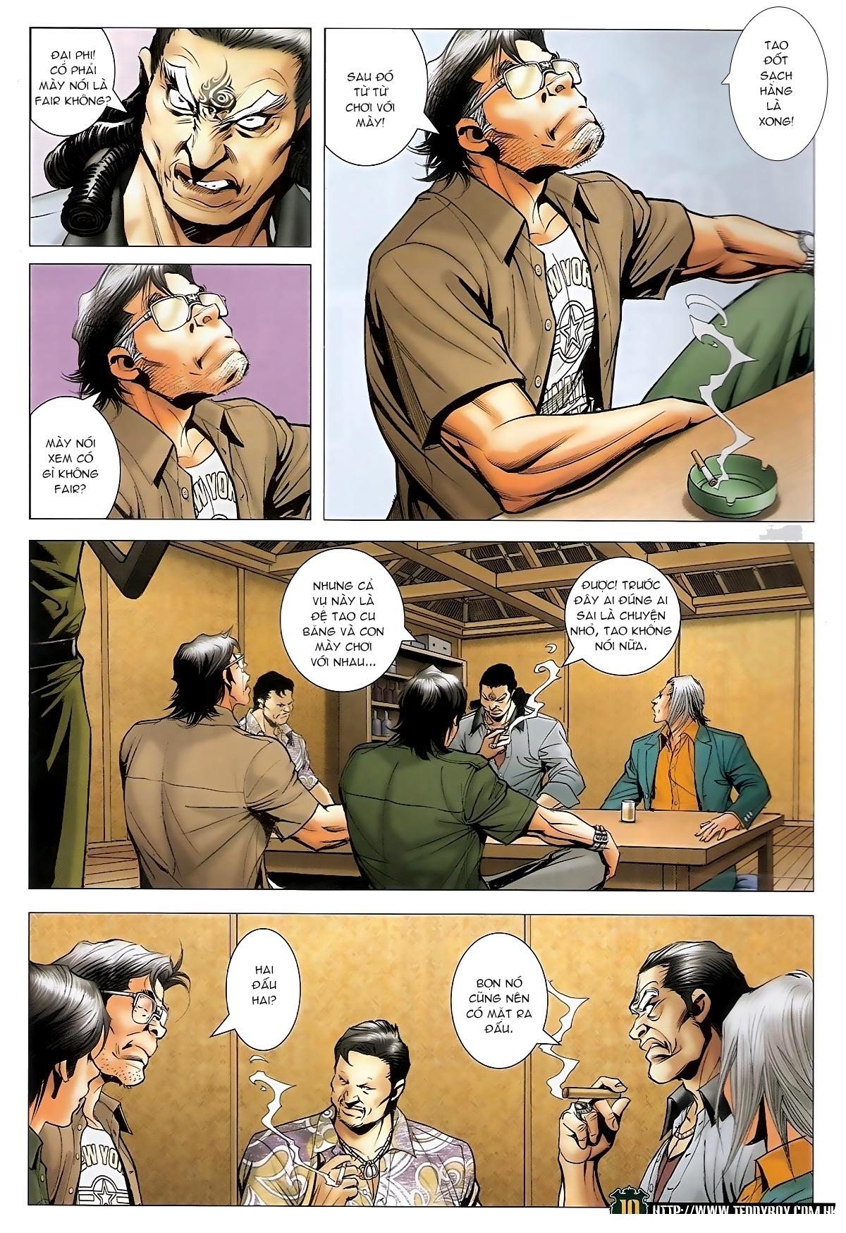 Người Trong Giang Hồ - Chapter 1549: Chơi bẩn - Pic 9