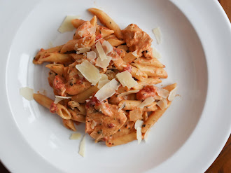 Creamy Italian Chicken with Penne (pressure cooker)