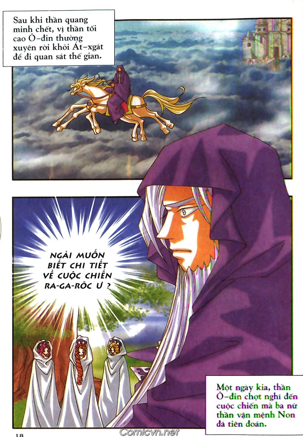 Thần thoại Bắc Âu - Chapter 48: Cuộc chiến Ragnarok - Pic 19