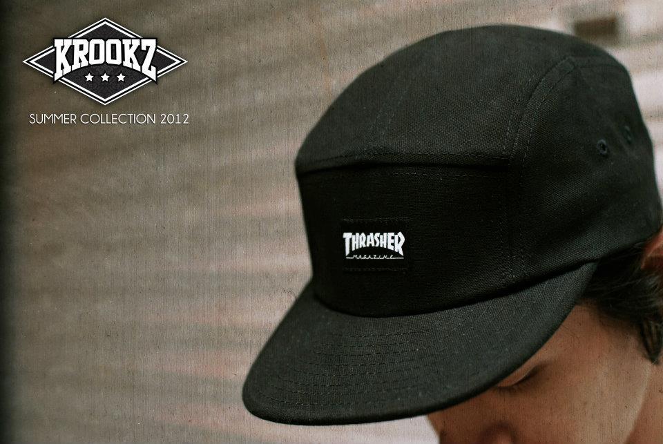 THRASHER X ELM 5 PANEL CAP 541a606944c