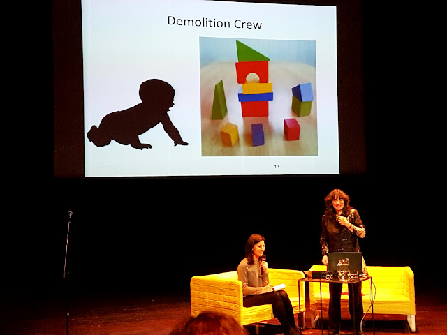 Jak mówić, żeby maluchy nas słuchały - Joanna Faber - Julie King - Media Rodzina - spotkanie na Scenie Wspólnej w Poznaniu