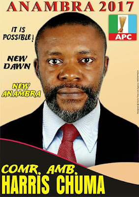 Anambra 2017: Harris Chuma Throws His Hat in the Ring