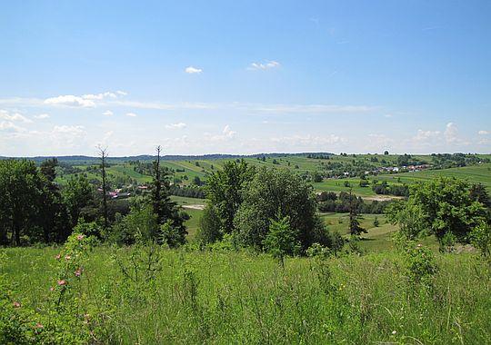 Panorama z Bukowej Góry.