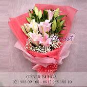 buket bunga lily