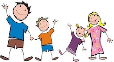 gambar ilustrasi keluarga bahagia