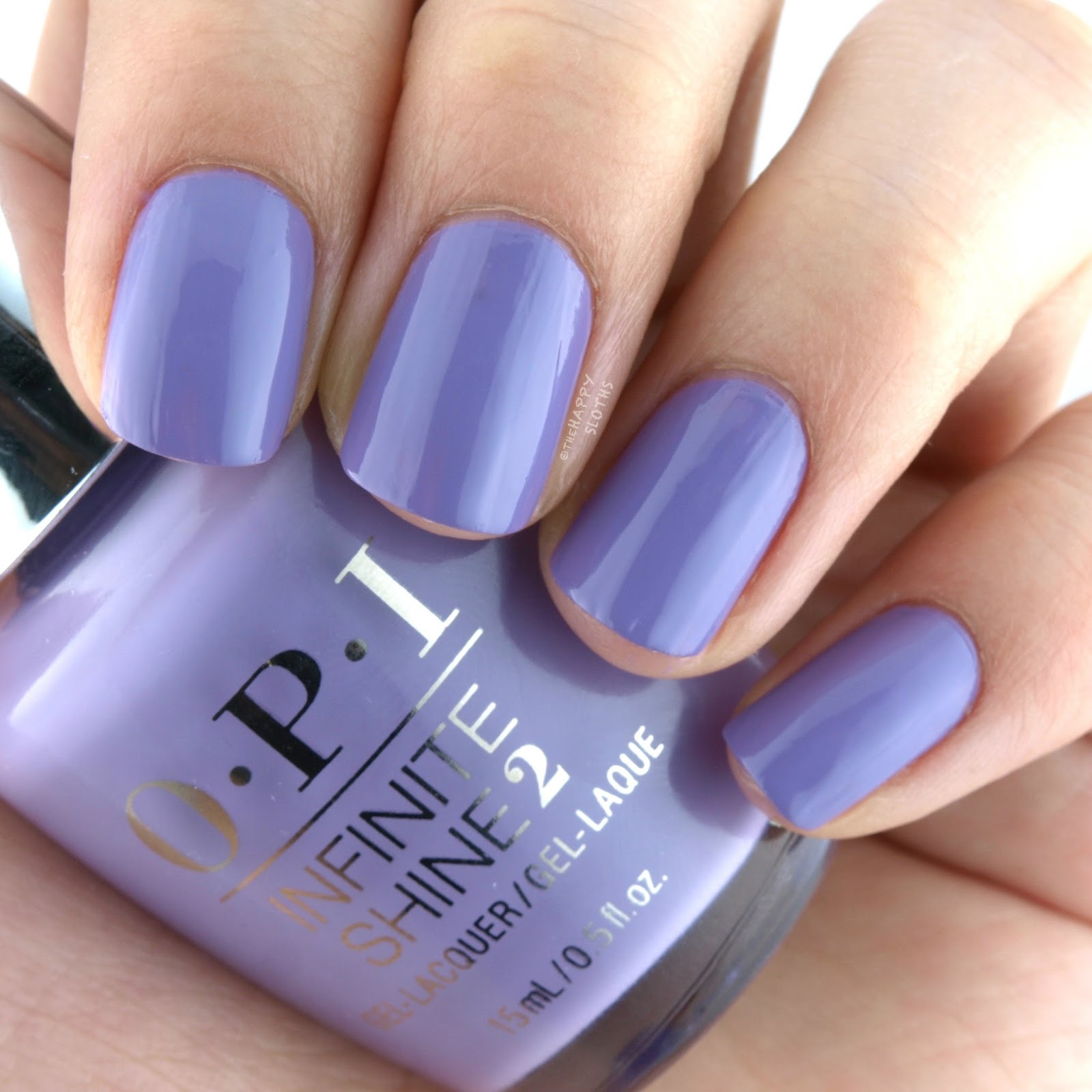 OPI Infinite Shine Do You Lilac It? Swatches Review