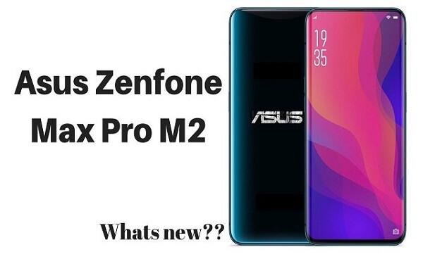 تسريب مواصفات هاتف Asus Zenfone Max Pro M2  قبل الأطلاق