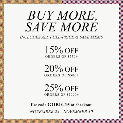 Shopbop Buy More Save More Sale code