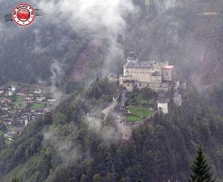 Hohenwerfen desde Eisriesenwelt, Werfen, Salzburgerland