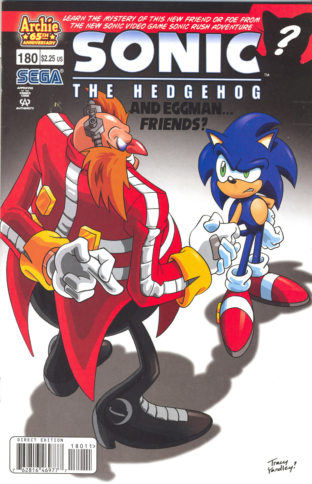 Read online Sonic The Hedgehog comic -  Issue #180 - 1