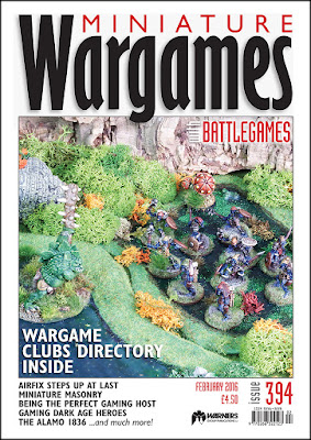 Miniature Wargames 394, February 2016