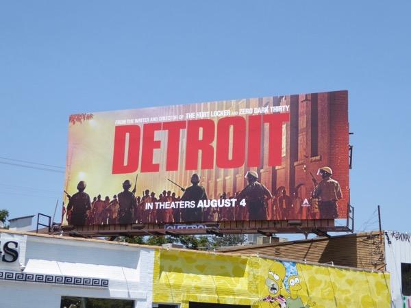 Detroit film billboard