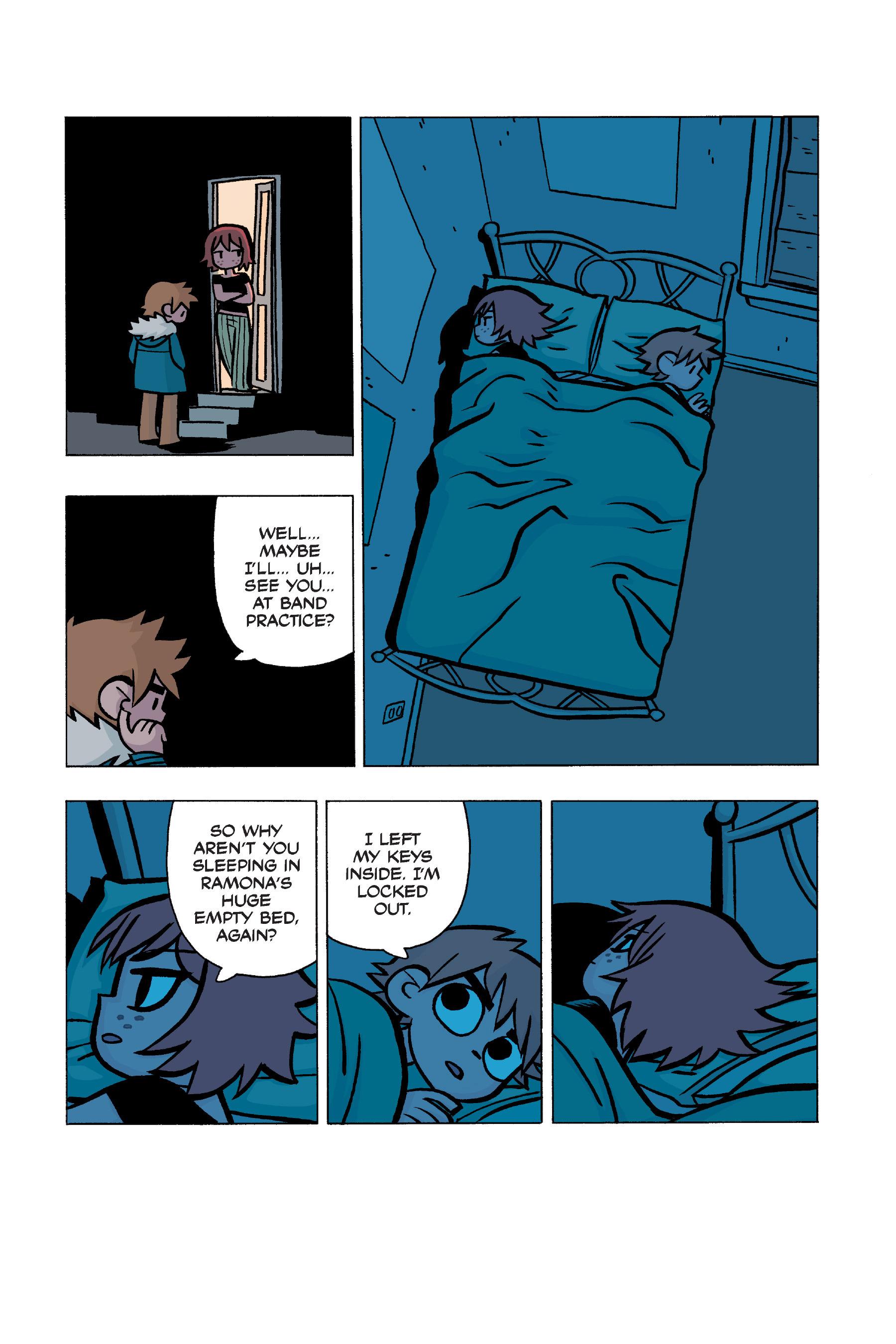 Read online Scott Pilgrim comic -  Issue #5 - 152