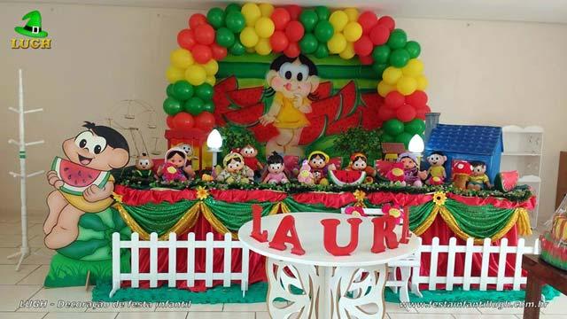 Tema feminino para festa de 1 ano - Decoração de aniversário tema Magali