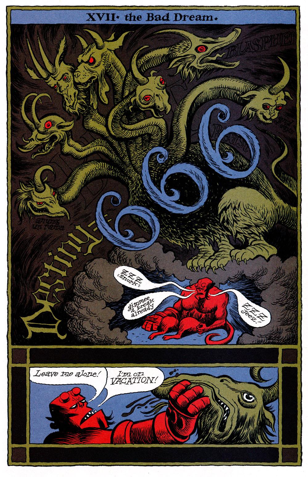 Read online Hellboy: Weird Tales comic -  Issue #6 - 23