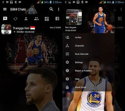 BBM Mod Stephen Curry V3.2.0.6 Apk