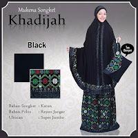 Mukena Bali khadijah Black