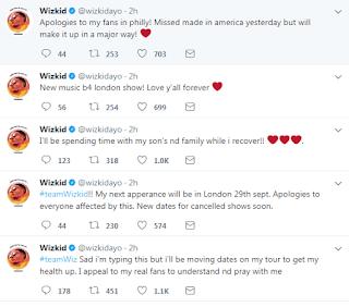 """""""If I die today, I die a legend"""" – Wizkid Claims"""