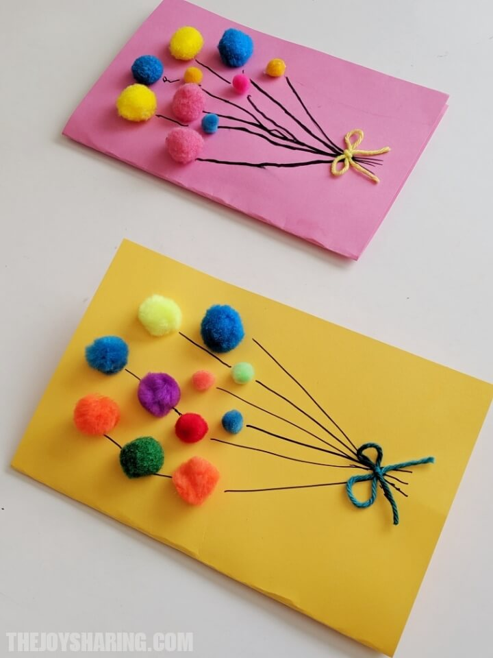 How to make homemade birthday cards? Easy DIY birthday card for kids.