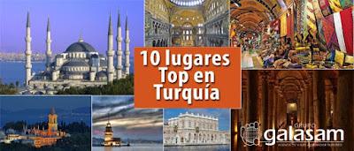 10 lugares Top en Turquía