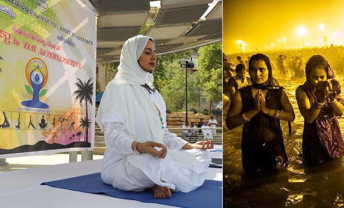 Attracted to muslim yoga teacher, mesmerized by Kumbh mela