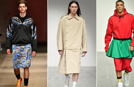 Are skirts the next men's fashion trend?