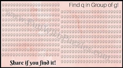 Find the hidden letter q in the picture