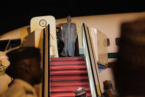 Photos: Buhari Back From 6 Days' Vacation