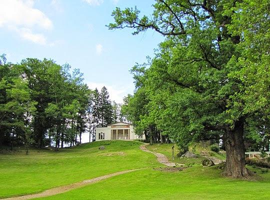 Pawilon Herbaciarni w Bukowcu z 1804 roku.