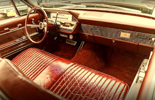 1966 Lincoln Continental Luxury Coupe Dashboard
