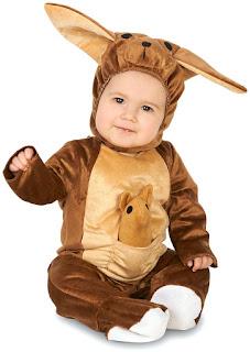 Kangaroo and Babyroo Infant Costume for Halloween