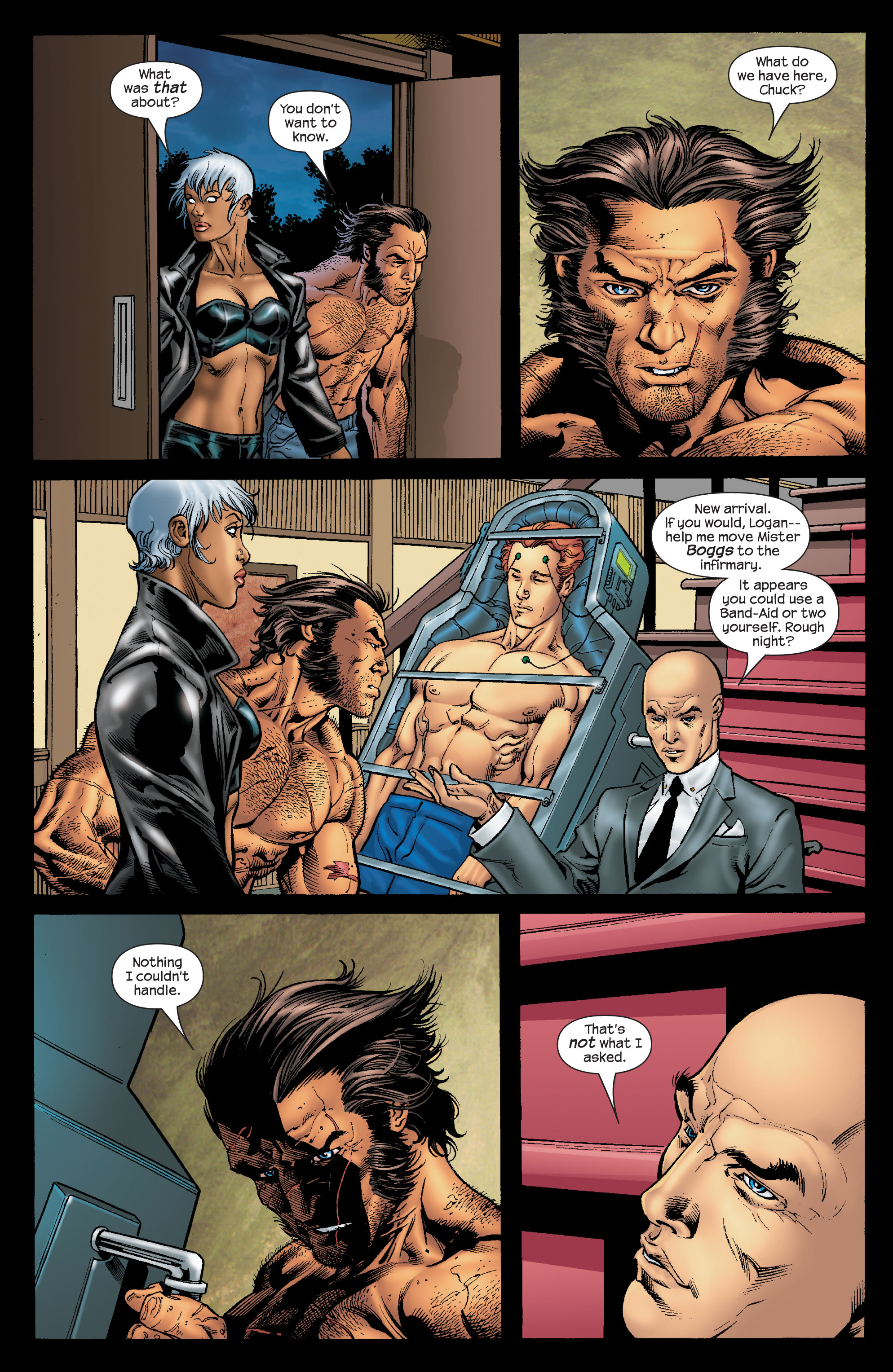 Read online Ultimate X-Men comic -  Issue #68 - 21