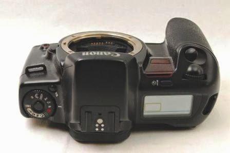 Canon EOS 10 QD tampak atas