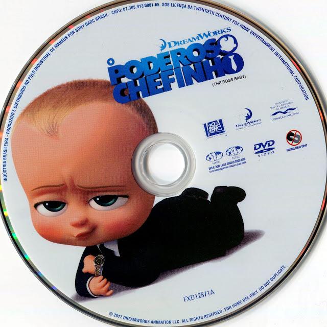 Label DVD O Poderoso Chefinho (Oficial)