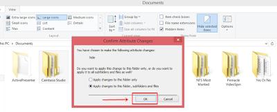 Menyembunyikan File & Folder