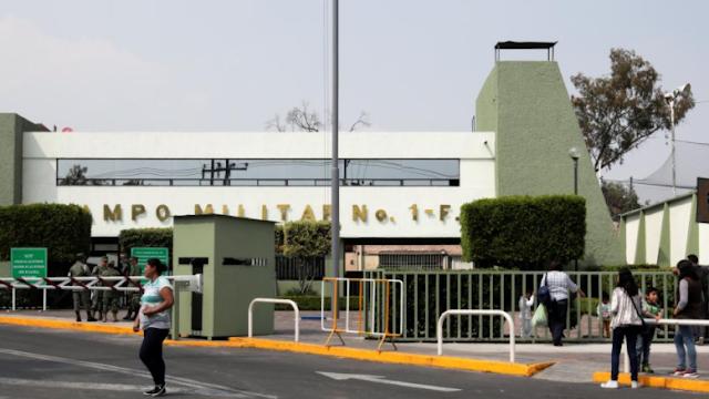 Gobierno venderá base militar de la CDMX en un billón de dólares