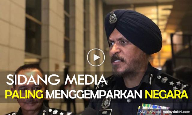 Sidang Media Yang Paling Menggemparkan Negara Hasil Geledah di Pavillion Residence