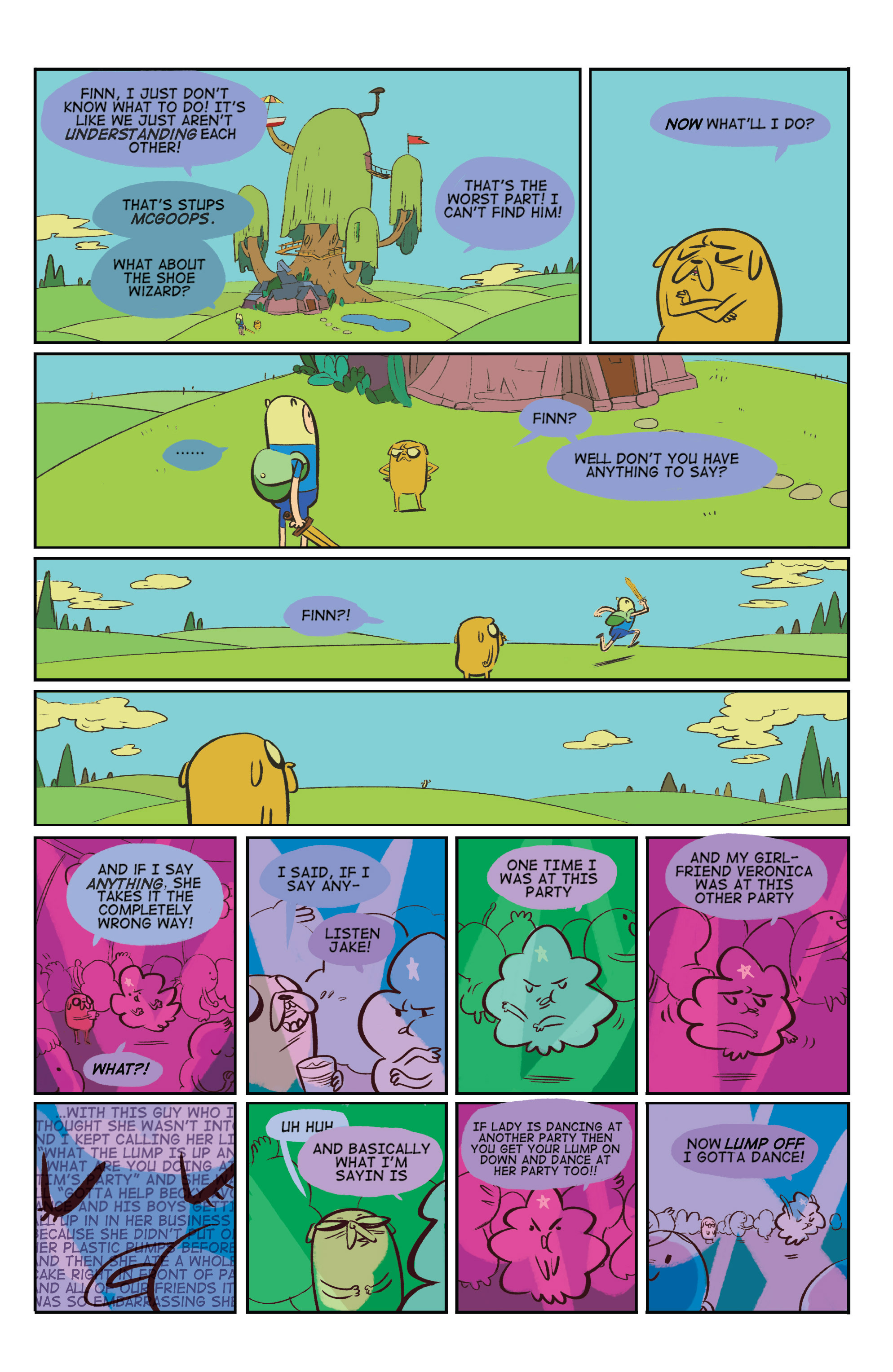 Read online Adventure Time: Marceline and the Scream Queens comic -  Issue #5 - 24