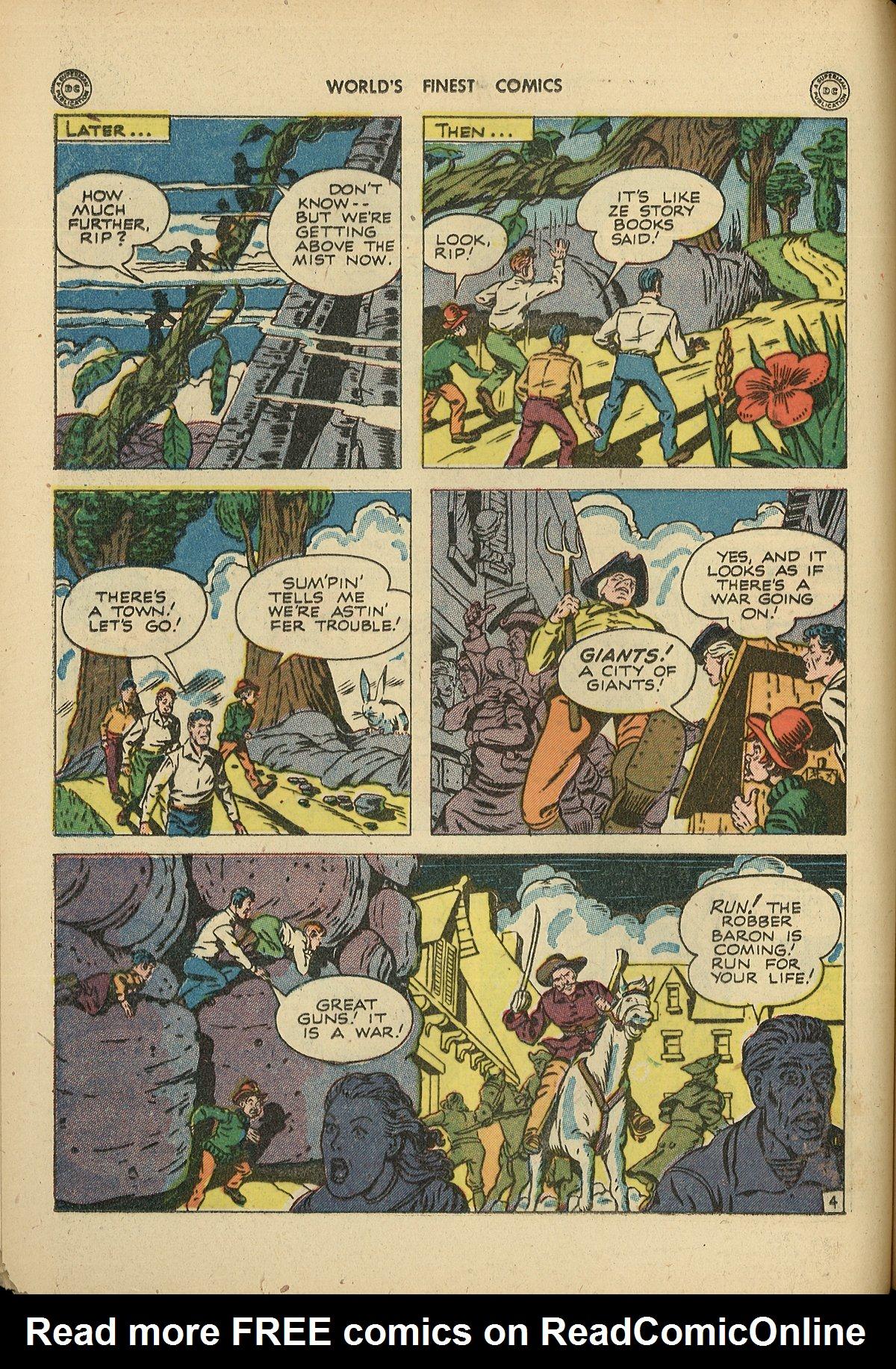 Read online World's Finest Comics comic -  Issue #26 - 28