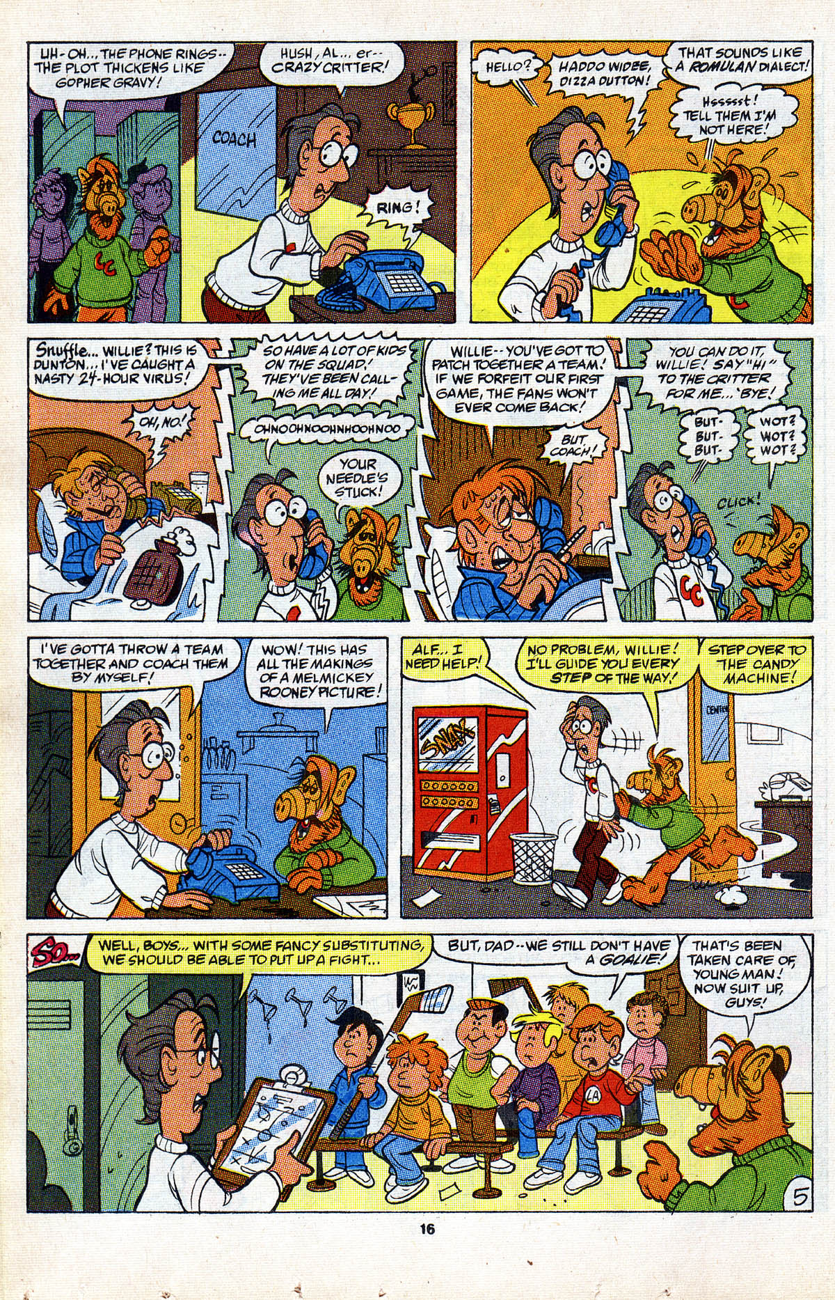 Read online ALF comic -  Issue #2 - 18