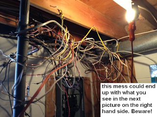 Wiring, new lines,messy rewiring electrician 647 800 5466