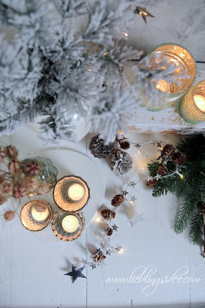 Lieblingsidee Blog: Funkelnde Dekoration für Advent und Weihnachten