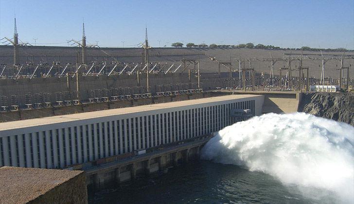 Egyptian Aswan High Dam