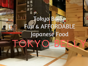 Tokyo Belly, FUN & AFFORDABLE Japanese Food!