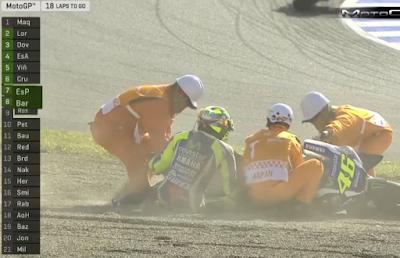 Rossi Jatuh di MotoGP Jepang, PLN Kota Jambi Langsung Padamkan Listrik