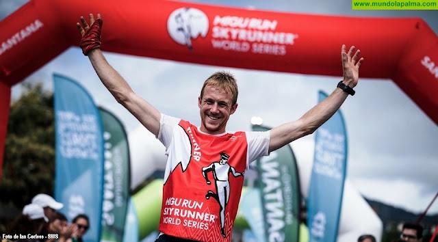 Jonathan Albon, campeón del mundo de Skyrunning, otro de los grandes atractivos de la Transvulcania Naviera Armas 2019