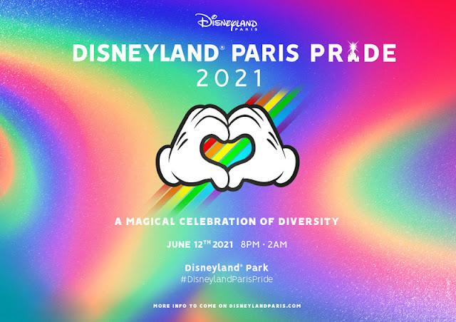 巴黎迪士尼 Disneyland Paris Pride 活動將延期至2021年6月12日舉行