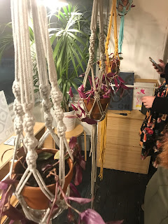 Craft lab, sheffield, craftlab, la biblioteka, macrame, macrame plant hanger, typewriter teeth, typewriterteeth